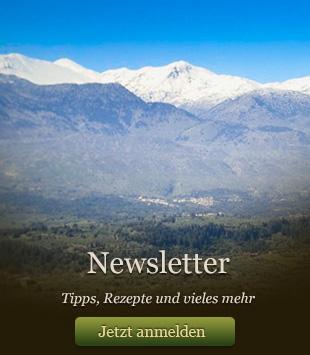 Crete Contact Newsletter - Tipps, Rezepte und vieles Mehr