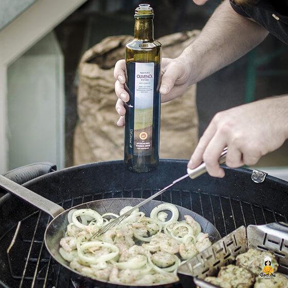 Perfekt abgestimmt mit dem lieblich fruchtigen MINOAS Olivenöl
