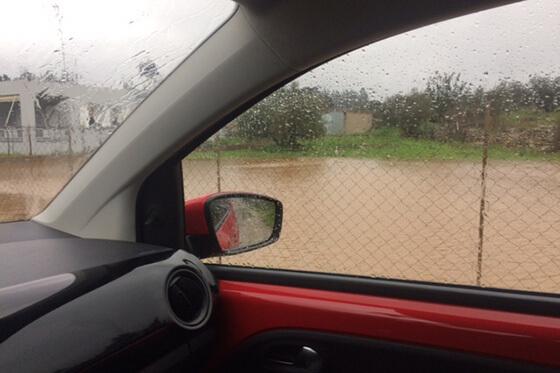 Im Dezember kam es zu Überschwemmungen nach außergewöhnlichen Regenfällen.