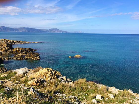 Strand von Petres in Kreta
