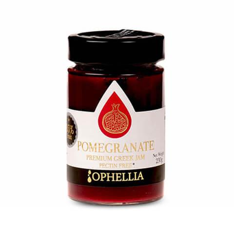 Granatapfel Konfitüre mit 85% Fruchtanteil